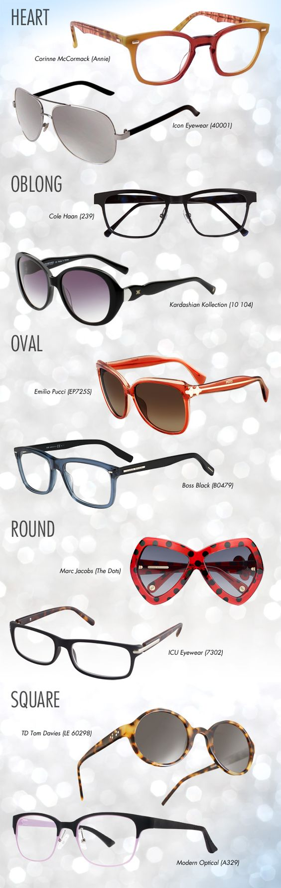 Picking Eyeglass Frames For Your Face : Choosing right hairstyles and eyeglasses that suit for ...