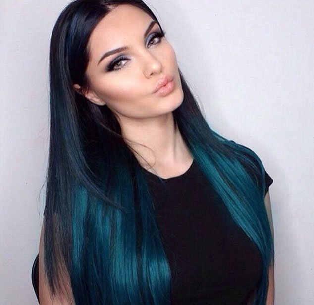 Hair color ideas for extensions fashion blue hair extensions for long straight hair pmusecretfo Image collections
