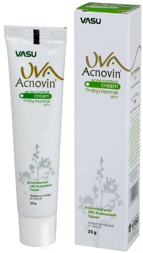 5 LOT X UVA Acnovin Cream