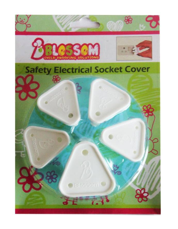 Blossom Child Proofing Electrical Socket Covers
