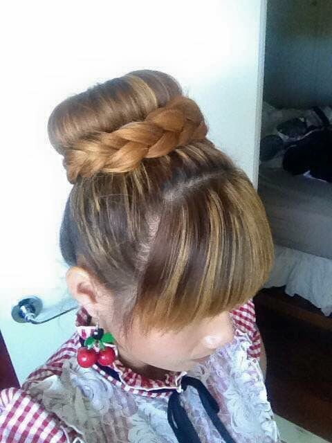 Braided bun for everyday