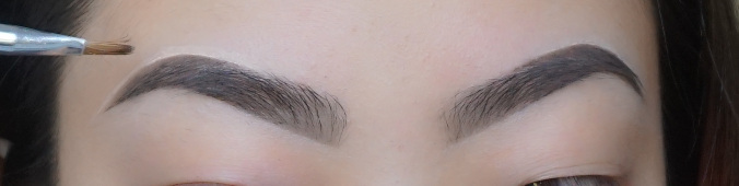 Cleaning up the top of the brow is not a crime