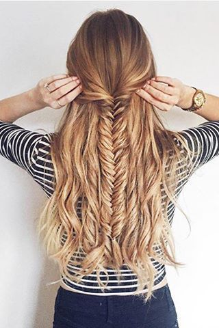 Fishbone plait for everyday