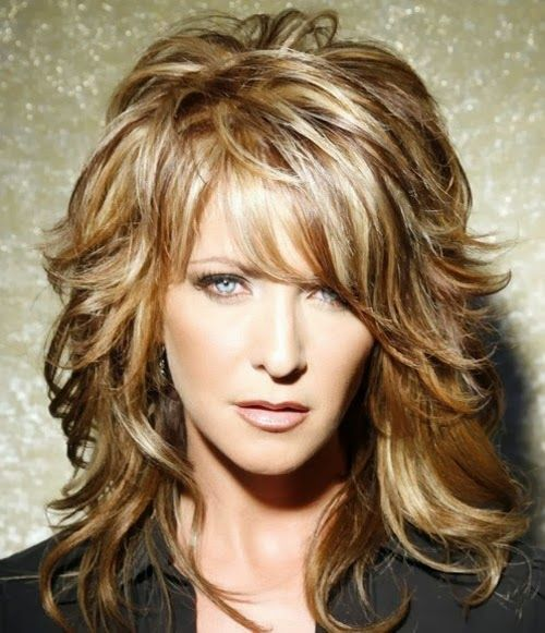 Layered Wavy Hairstyles For Oval Faces Long Medium Short Hair Cuts