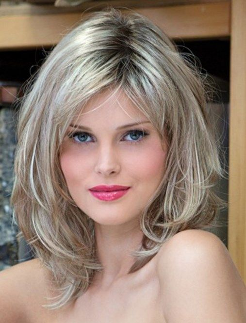 Layered wavy hairstyles for oval faces - Long, medium & short hair ...