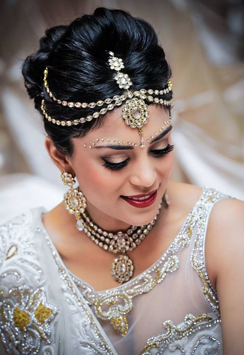 Bridal hairstyles for Indian wedding - Dulhan hairstyles