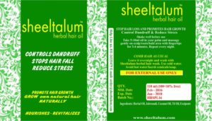 Sheeltalum Herbal Hair Oil -110 ml