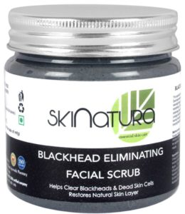 Skinatura blackhead eliminating facial scrub