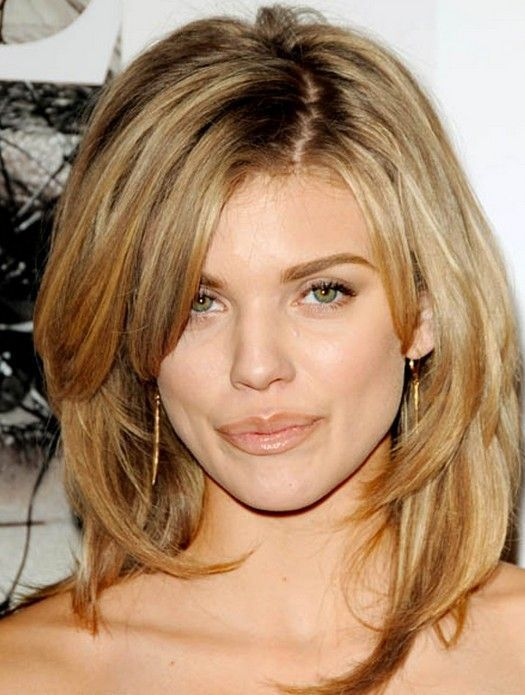 Layered wavy hairstyles for oval faces - Long, medium & short hair cuts