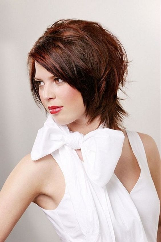 The right pixie cut for looking slim