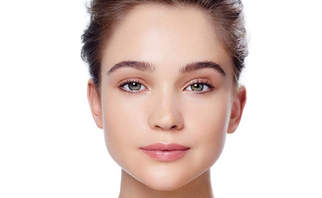 The right square face eyebrow shape