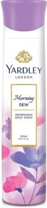 Yardley London Morning Dew Refreshing Deo for Women