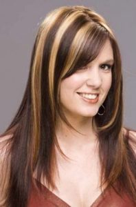 Dark brown hair styles with highlights and lowlights blonde highlights on dark brown hair wallpaper 4 pmusecretfo Image collections