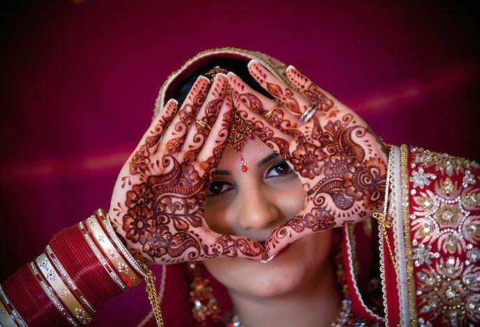 bridal mehndi designs for hands - dulhan henna designs