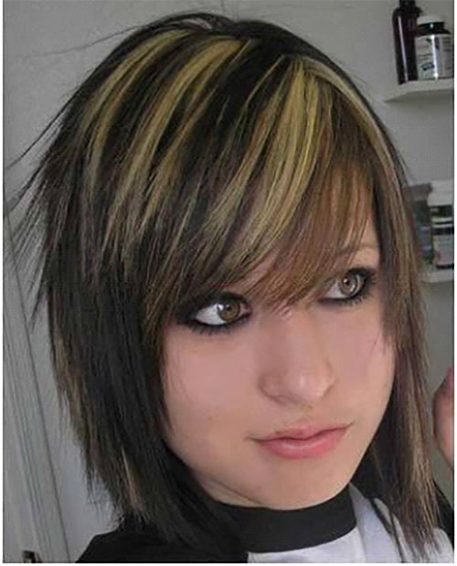 Emo with parallel highlights