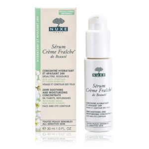 Nuxe Creme Fraiche De Beaute Serum 24HR Soothing And Moisturizing Concentrate For All Sensitive Skins