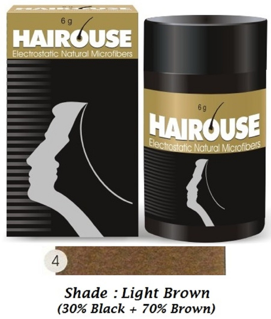 Hairouse Natural Hair Building Microfibers (Light Brown) 6g