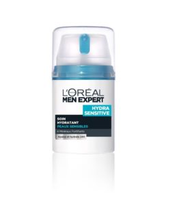 Loreal Men Experts Hydra Sensitive Soin Moisturizing 50 ml With Free Ayur Sunscreen 50 ml