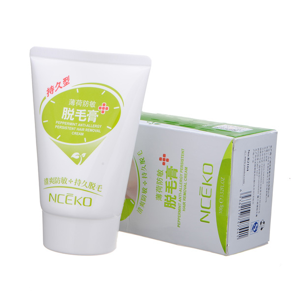 Peppermint Anti-allergy Hair Remover Depilatory Removal Cream