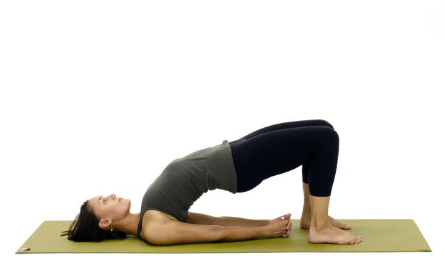 Setubandhasana or the bridge pose
