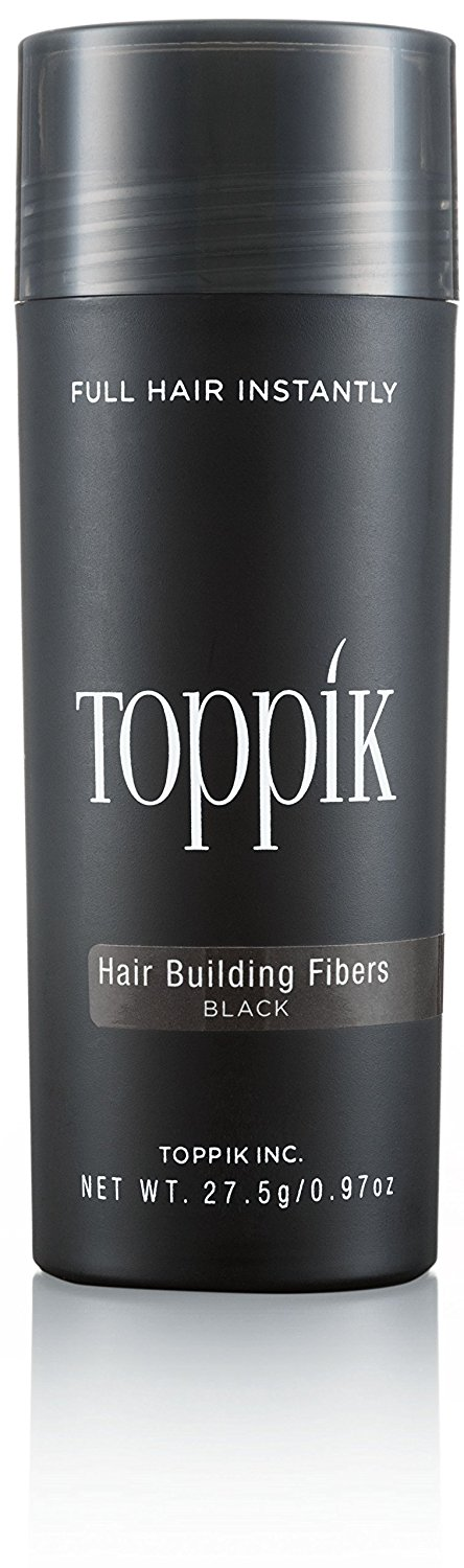 Toppik hair building fibers, black