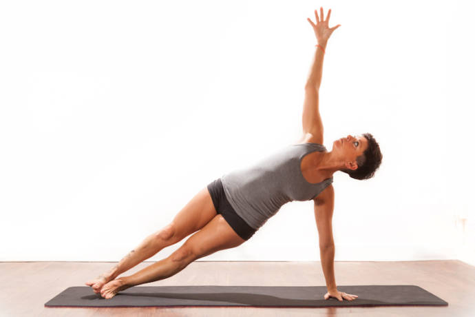 Vasisthasana or the side plank pose
