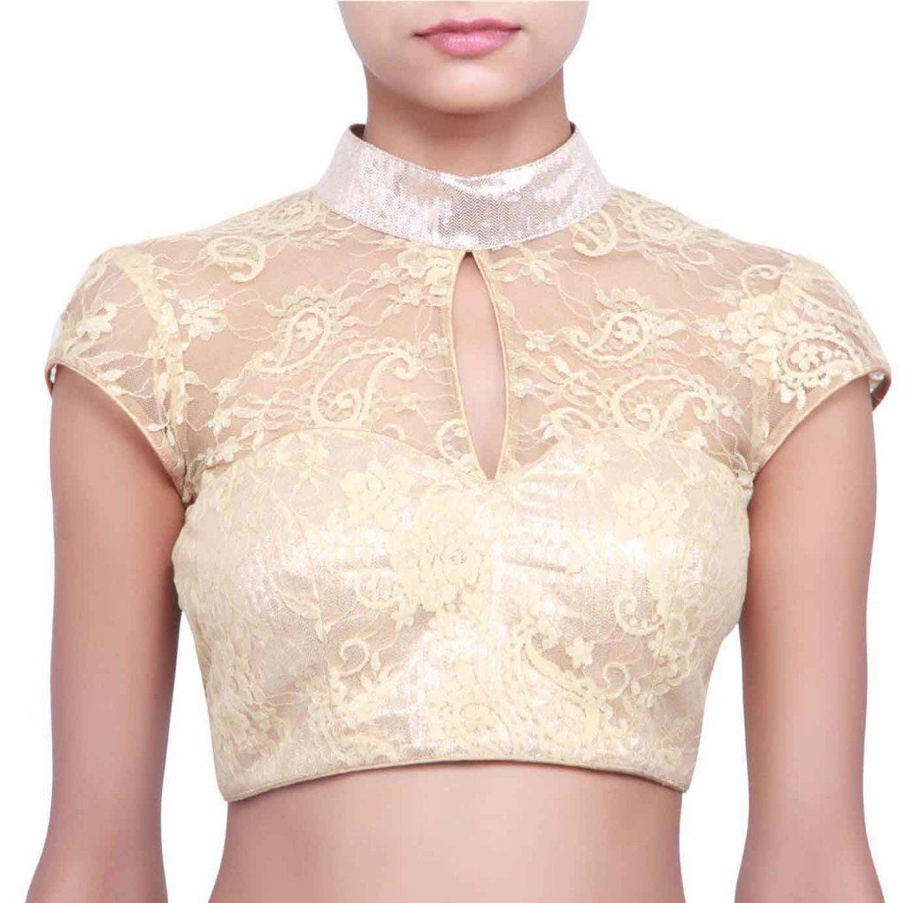 Chinese collar blouse design
