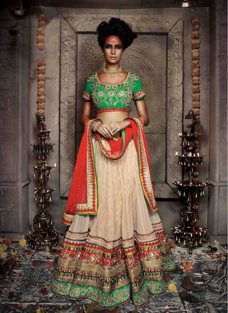 Designer blouse for benarasi ghagra