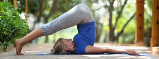 Halasana or the Plough pose