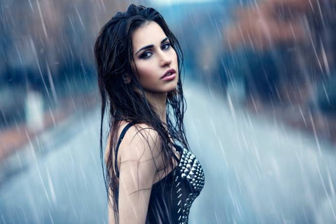 Image result for Take care of hair in monsoon
