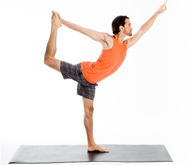 Natarajasana or the lord of dance pose