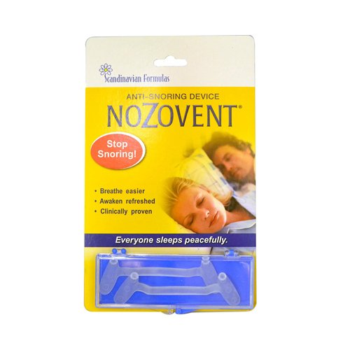 Nozovent Anti Snoring Device, 2 pieces