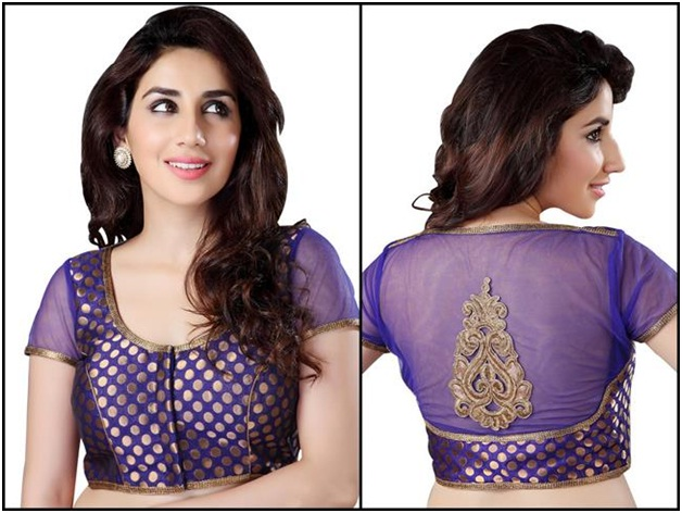 purple-net-and-chanderi-blouse