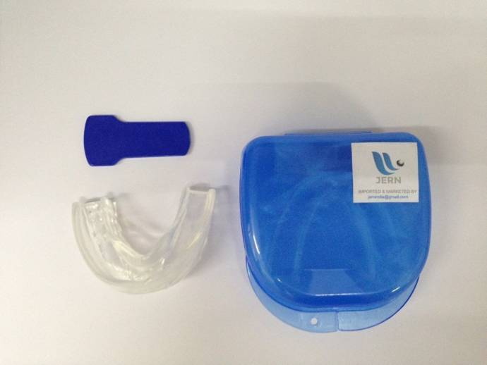 STOP Anti SNORING SOLUTION Device Anti Snore Mouthpiece Tray Stopper Sleep Apnea Mouthguard