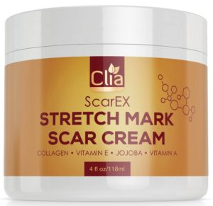 Stretch Mark Cream Huge 4 Oz For Removal & Prevention Of New