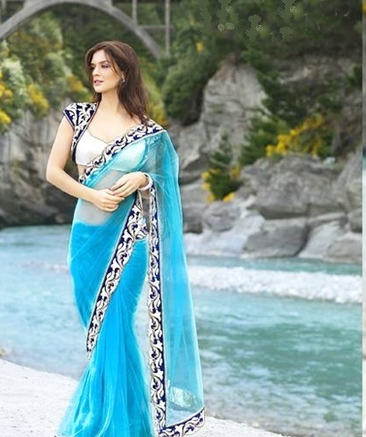 A jacket blouse for your silk sarees