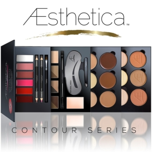 Aesthetica Cosmetics Contour Series - Contouring and Highlighting Library Set