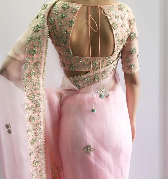baby-pink-blouse-back-design
