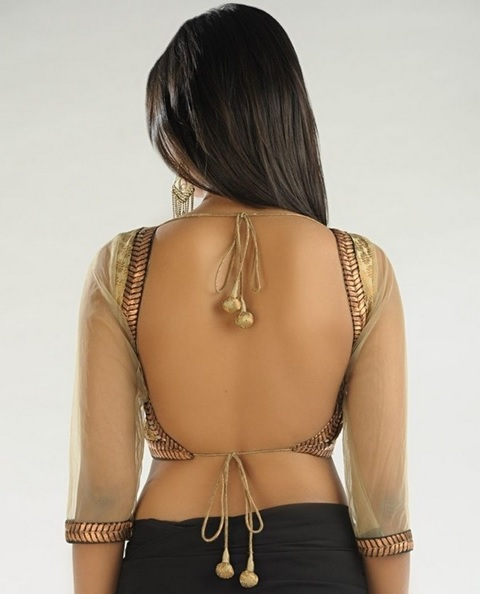 back-less-blouse-design-with-net-sleeves