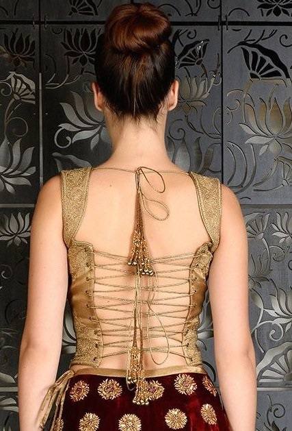 backless-laced-blouse-back-neck-design
