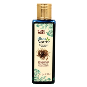 Blue Nectar Ayurvedic Hair Oil to Reduce Hair fall