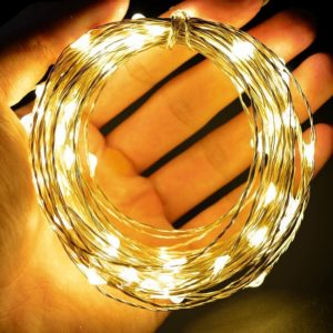 Copper String LED light 10M 100 LEDs USB Operated Wire Decorative Lights