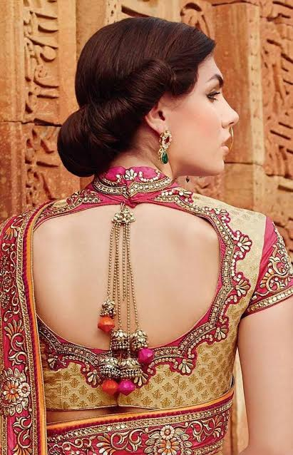 exclusive-bi-color-wedding-blouse-with-collar
