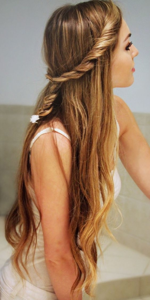 Easy hairstyles for college girls - Simple hair style ideas for ...