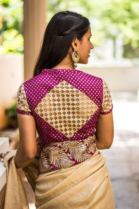 high-neck-blouse-design-with-cutwork
