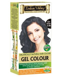 Indus Valley Halal Herbal Dark Brown Hair Color