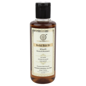Khadi Henna Rosemarry and Henna Hair Oil