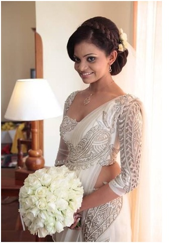 Best Indian Wedding Hairstyles For Christian - Hairstyle with wedding gown