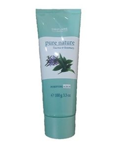 Oriflamme pure nature tea tree & rosemary purifying SCRUB