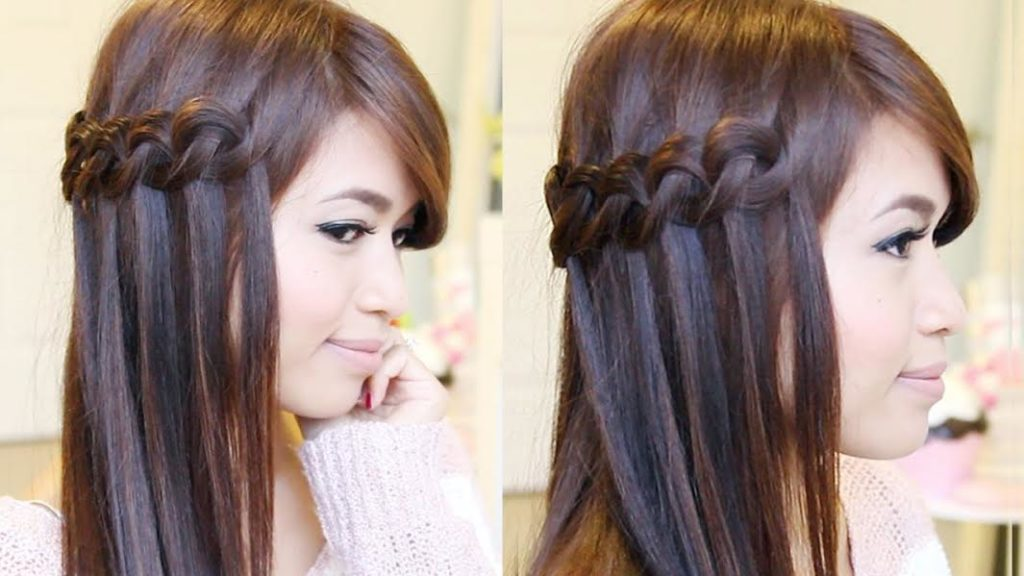 Side waterfall braiding